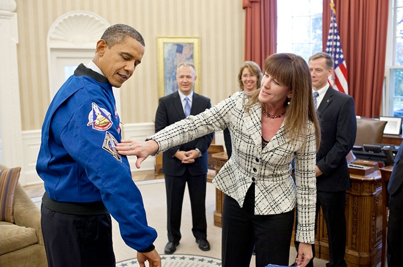 Outfitting The Obamanaut The President S New Space