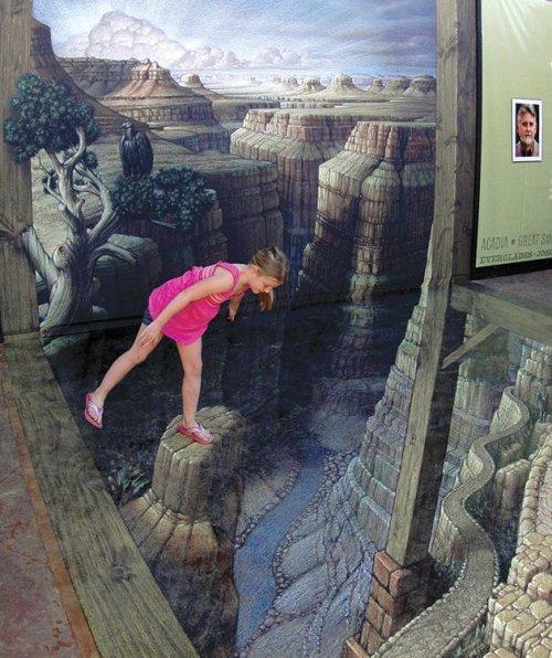 D Illusion Exhibition : D street art as my world turns