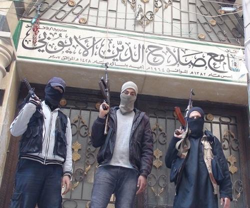 ISIS Or Daesh Militants Control Yarmuk Palestinian Camp - Damascus