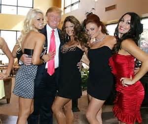 trump-and-beauties