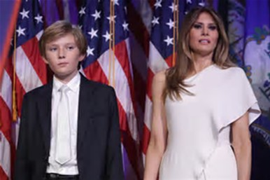 melania-and-barron