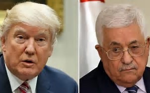 Trump and Mahmoud Abbas