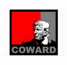 trump coward