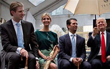 Trump and 3 oldest chldren