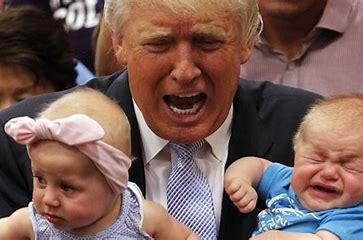 Trump crying