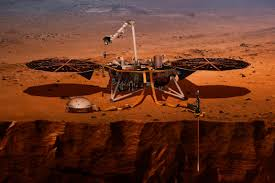 InSight Lander on Mar
